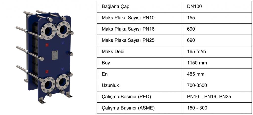 risus rs22 plakalı eşanjör teknik özellikler